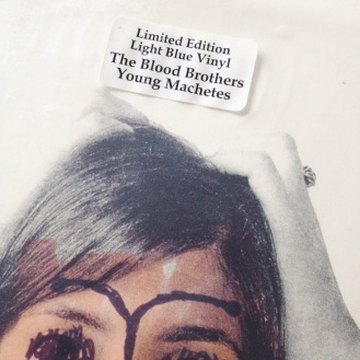 The Blood Brothers Young Machetes Vinyl Label