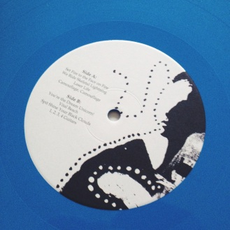 The Blood Brothers Young Machetes Blue Vinyl